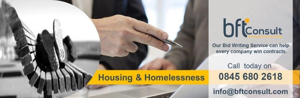 Housing Related Support & Homeless Tenders